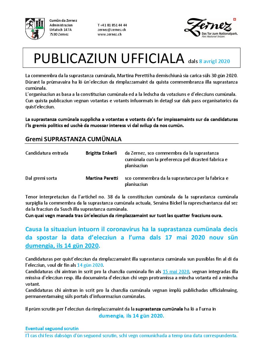 Elecziuns 2020 - v1.2 - publicaziun ufficiala