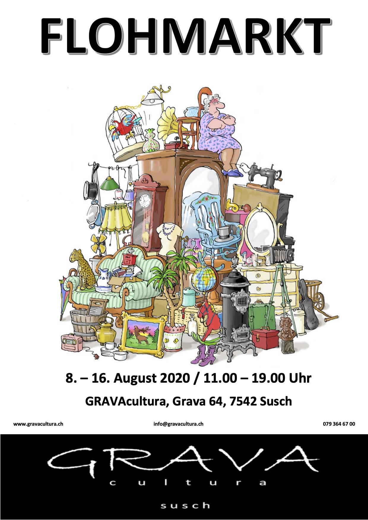 Flohmarkt GRAVAcultura