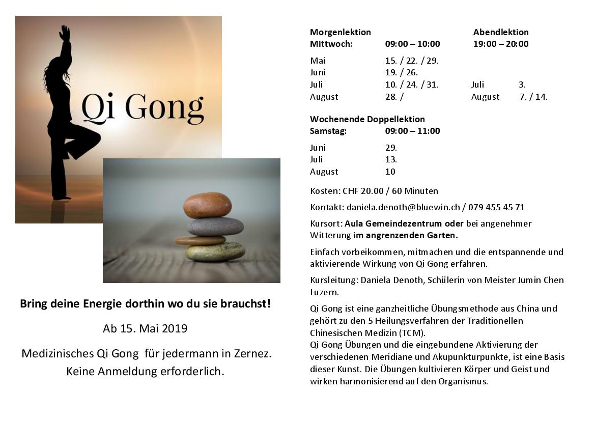 Medizinisches Qi Gong