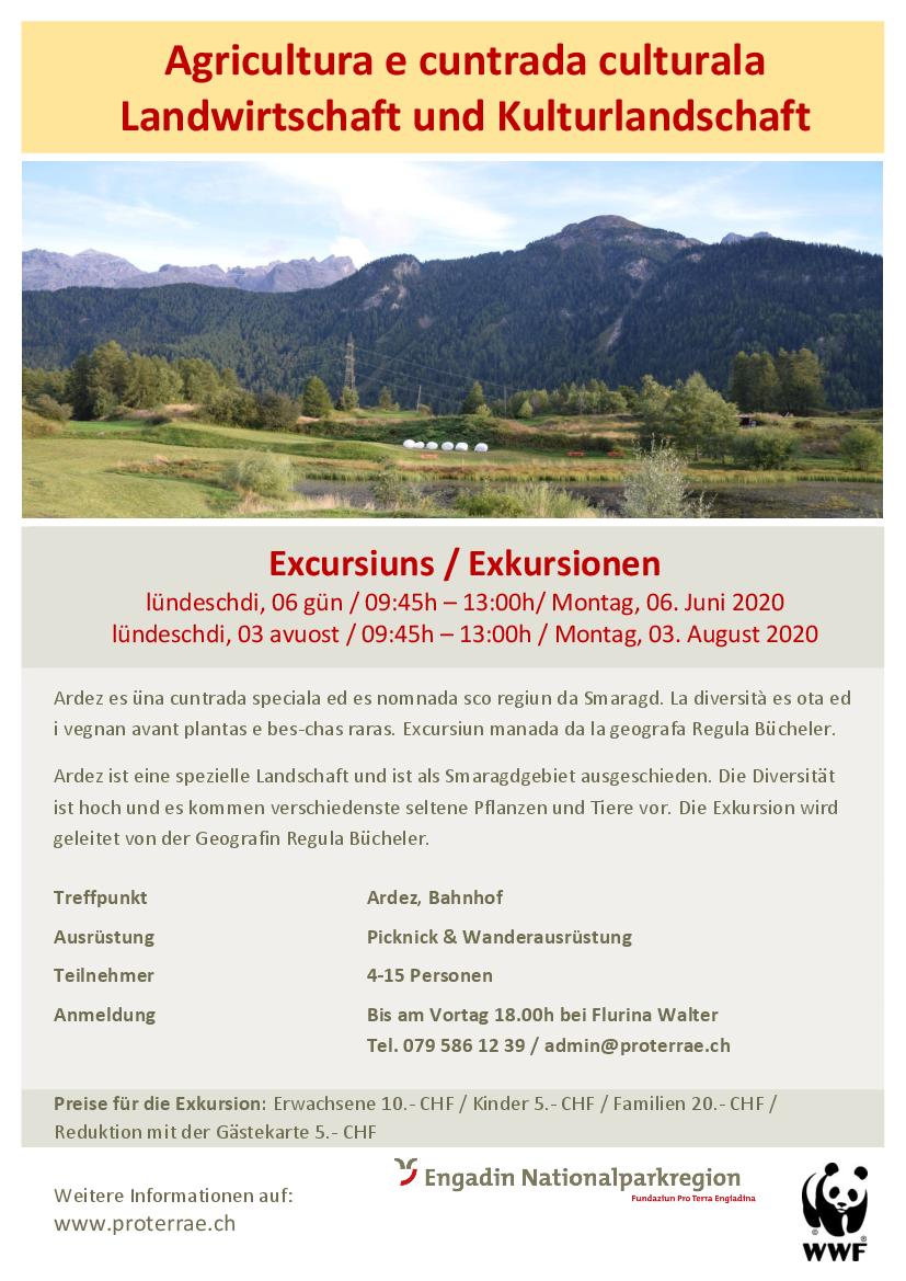 Exkursion - Landwirtschaft und Kulturlandschaft