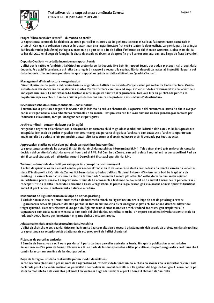 Protocol 003-2016 dals 23-03-2016
