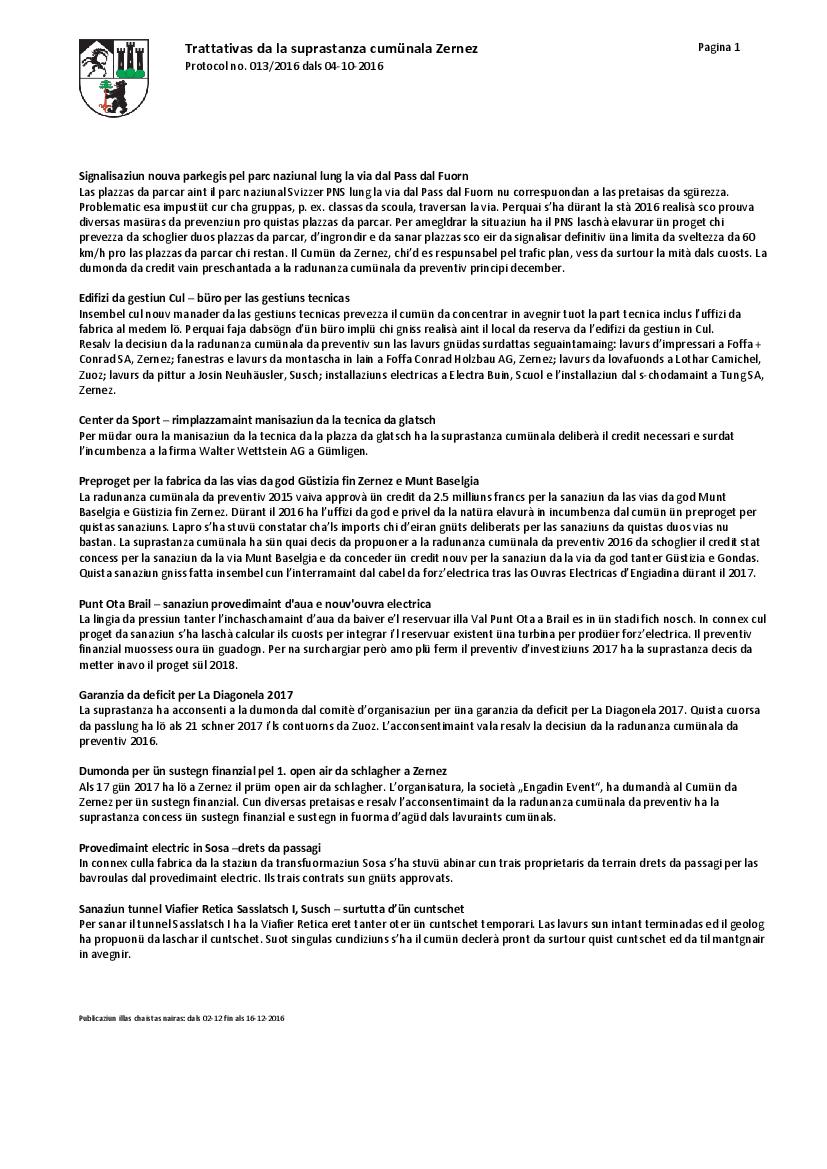 Protocol 013-2016 dals 04-10-2016