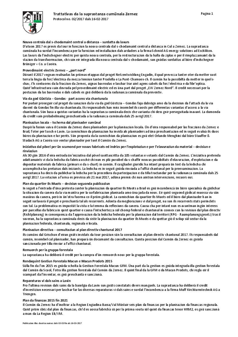 Protocol 02-2017 dals 16-02-2017