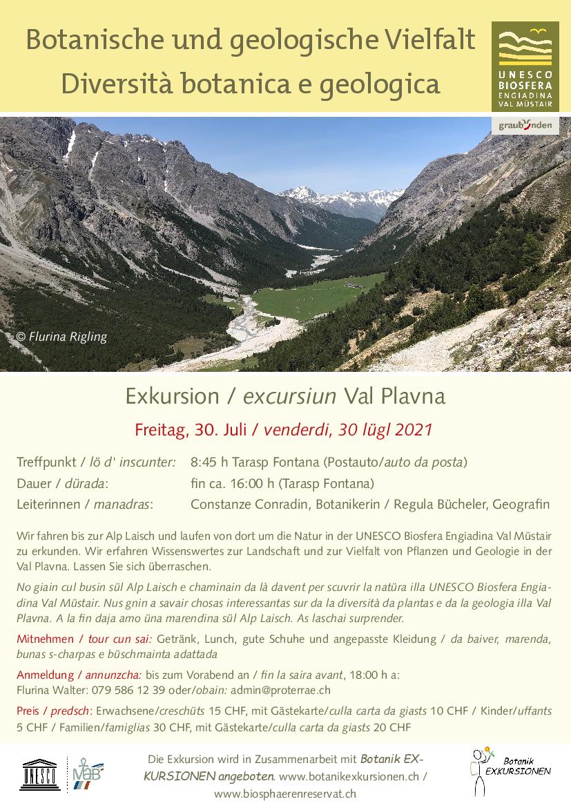 Pro Terra Engiadina - Botanische und geologische Vielfalt