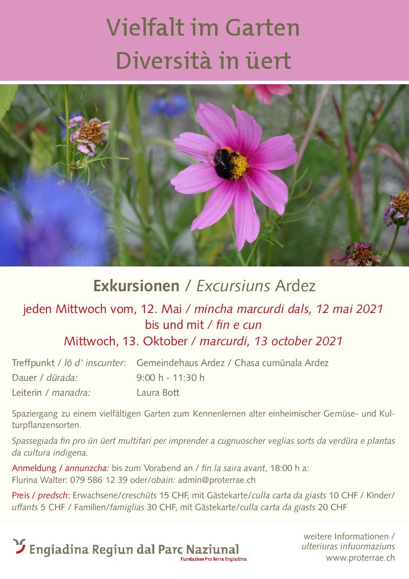 Pro Terra Engiadina - Vielfalt im Garten