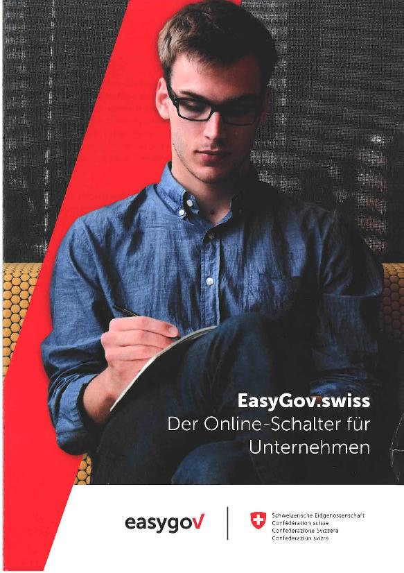 EasyGov.swiss - Der Onlineschalter für Unternehmen
