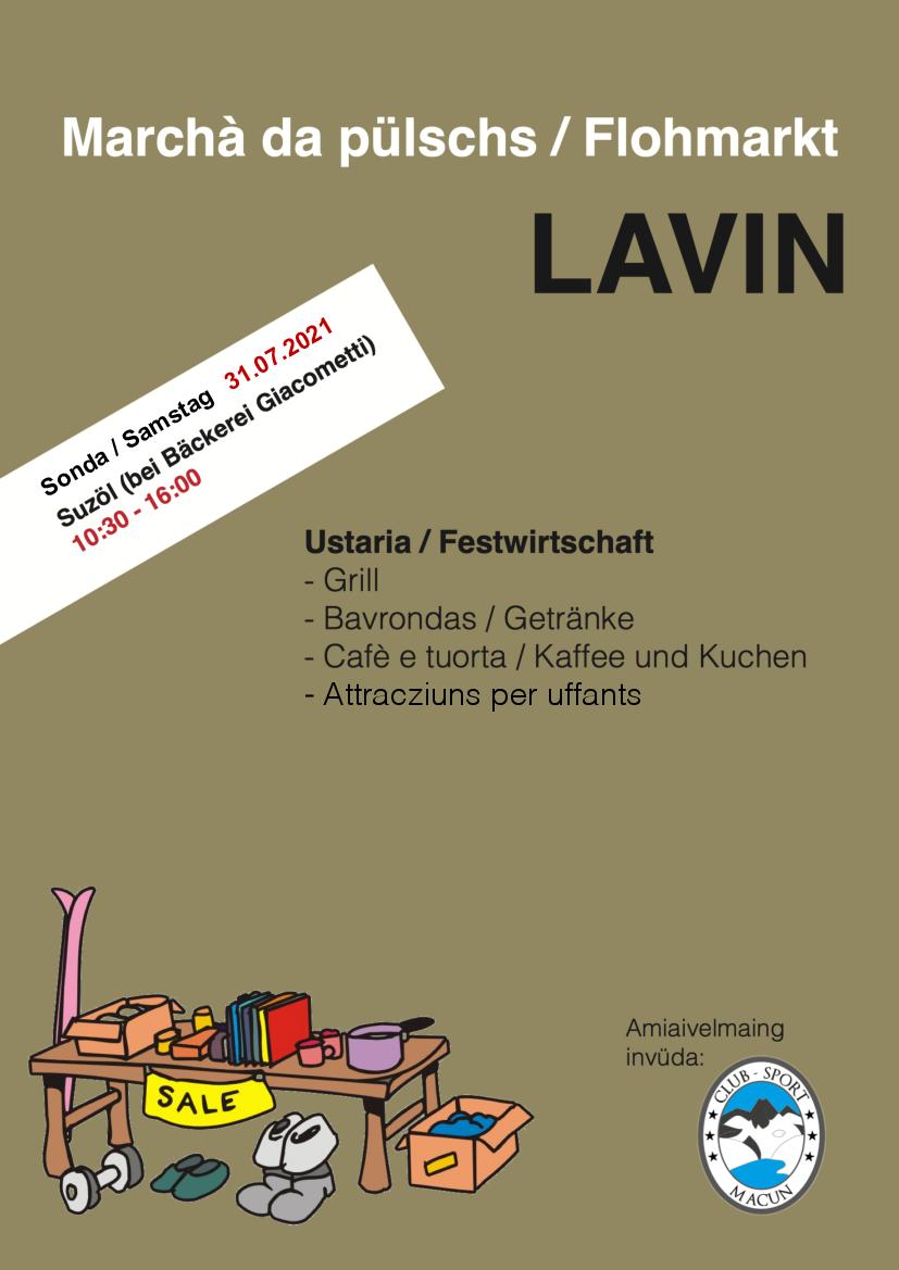 Flohmarkt Lavin