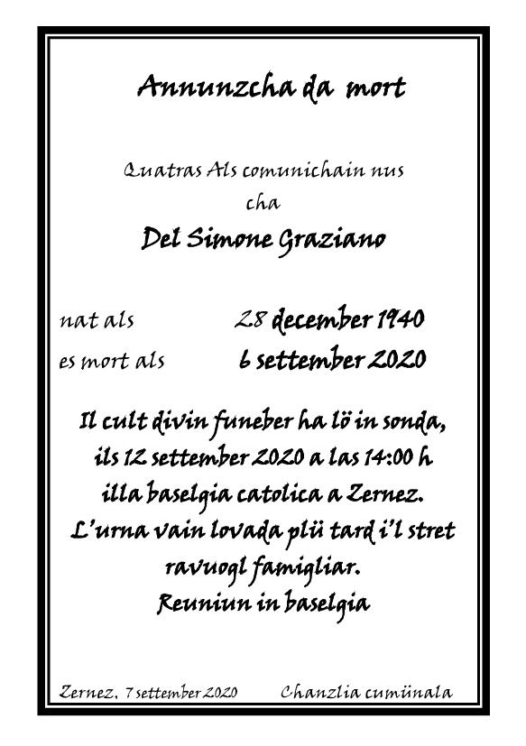 Mortori - Del Simone Graziano - 06.09.2020
